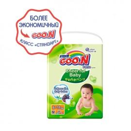 Тайские трусики GOON Cheerful Baby М (7-12 кг) 58 шт