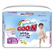 Японские трусики Goon для девочек XXL (13-25 кг) 28 шт.(JP)