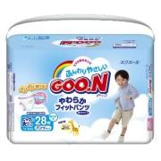 Японские трусики Goon для мальчиков  XXL (13-25 кг) 28 шт.(JP)
