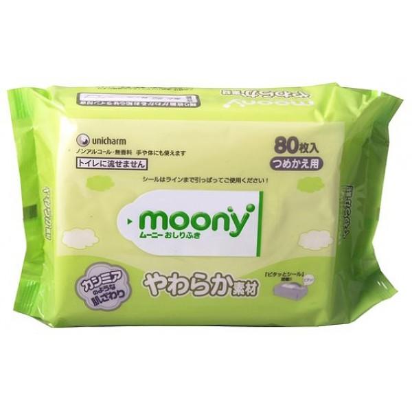 Moony салфетки влажные , 80 шт.