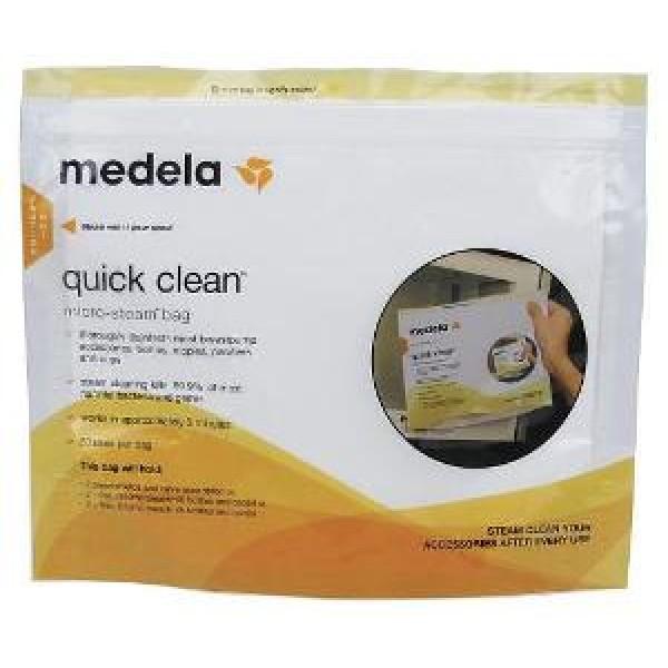 Medela Пакеты Quick Clean для паровой стерилизации в микроволновой печи, 5шт.