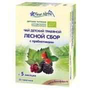 Fleur Alpine детский органический травяной чай