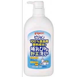 Pigeon средство для мытья бутылочек, фруктов и овощей, детской посуды, пустышек, погремушек 800 мл