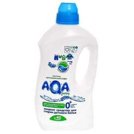 AQA BABY Жидкое средство для стирки детских вещей и пеленок 1,5 л