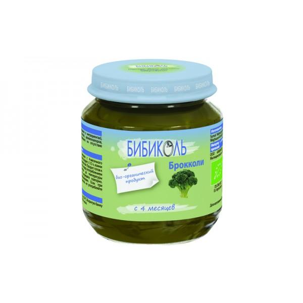 Бибиколь Пюре органическое Брокколи с 4 мес 125г