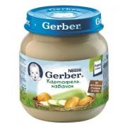 Gerber Пюре Картофель-Кабачок с 5 мес 130г
