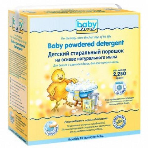 BABYLINE Стиральный порошок на основе натурального мыла 2,25 кг