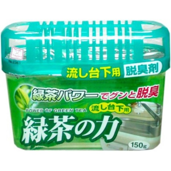 KOKUBO Дезодоронт - поглотитель неприятных запахов под раковину с экстрактом зеленого чая