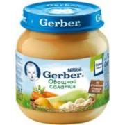Gerber пюре Овощной салатик с 5 мес 130 г.