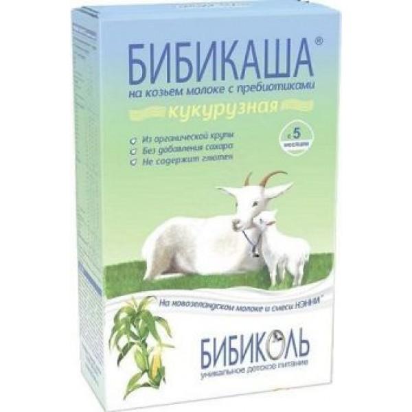 БИБИКАША на козьем молоке Кукурузная с 5 мес 200г