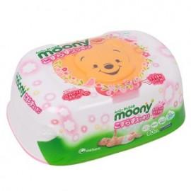 Moony салфетки влажные в контейнере 60 шт