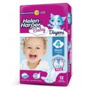 Helen Harper Baby Подгузники maxi (7-18 кг) 12 шт