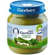 Gerber пюре Брокколи кабачок 130 гр с 5 мес