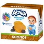 Агуша Компот Изюм-Курага-Яблоко с 8 мес 200 мл