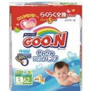 Японские трусики Goon S (5-9 кг) 62 шт