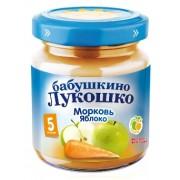 Бабушкино лукошко Пюре Морковь-Яблоко с 5 мес 100г