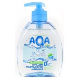AQA baby Гель для подмывания младенцев с дозатором 0+ мес 300 мл