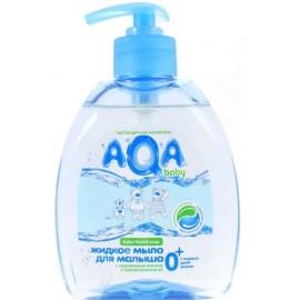 AQA baby Жидкое мыло для малыша с дозатором 0+ мес 300 мл