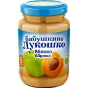 Бабушкино лукошко Пюре Яблоко-Абрикос с 4 мес 200г