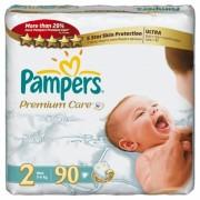 Pampers Подгузники Premium Care 2 (3-6 кг) 90+6 шт
