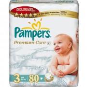 Pampers Подгузники Premium Care 3 (4-9 кг) 80 шт