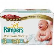 Pampers Подгузники Premium Care 3 (4-9 кг) 120 шт