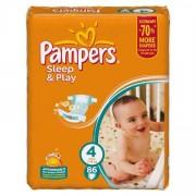 Pampers Подгузники Sleep and Play 4 (8-14 кг) 86 шт
