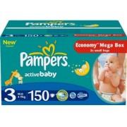 Pampers Подгузники Active Baby 3 (4-9 кг) 150 шт
