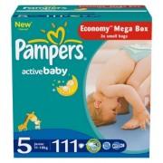 Pampers Подгузники Active Baby 5 (11-18 кг) 111 шт