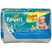 Pampers Влажные салфетки Baby Fresh 2 x 64 шт