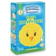 Бабушкино лукошко Каша безмолочная Кукурузная с пребиотиками с 5 мес 200г