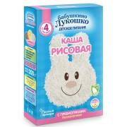 Бабушкино лукошко Каша безмолочная Рисовая с пребиотиками с 4 мес 200г
