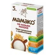 МАМАКО Каша Кукурузная с пребиотиками на козьем молоке с 5 мес 200г