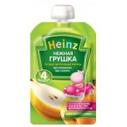 Heinz Пюре Нежная грушка (пауч) 100г с 4 мес