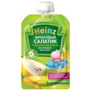 Heinz Пюре Фруктовый салатик (пауч) 100г с 6 мес