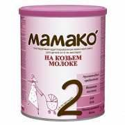 МАМАКО Смесь на козьем молоке 2 с 6 мес 400г