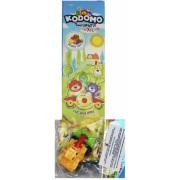 KODOMO Детская зубная паста со вкусом фруктов + игрушка 6+ мес