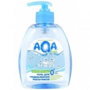 AQA baby Гель для подмывания мальчиков с дозатором 0+ мес 300 мл