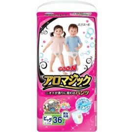 Японские трусики Goon Aromagic XL (12-20 кг) 36 шт
