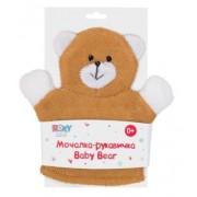 ROXY KIDS Мочалка-рукавичка Мишка 0+ мес