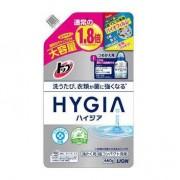 LION Жидкое антибактериальное средство для стирки HYGIA (концентрат) сменный блок 660г