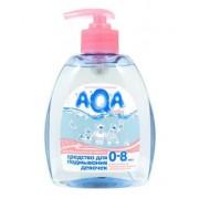 AQA baby Гель для подмывания девочек с дозатором 0+ мес 300 мл