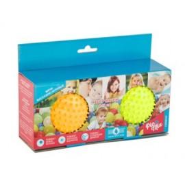 Pic nMix Набор массажно-игровых мячей (желтый, оранжевый)
