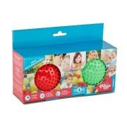 Pic nMix Набор массажно-игровых мячей (красный, зеленый)