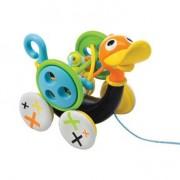 Yookidoo Музыкальная игрушка - каталка Уточка