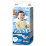 Японские подгузники Genki L (9-14 кг) 54 шт