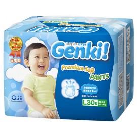 Японские трусики Genki L (9-14 кг) 30 шт