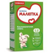 Кисломолочная смесь МАЛЮТКА 0-12 мес 350г