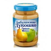 Бабушкино лукошко Пюре Груша-Яблоко без сахара с 5 мес 200г