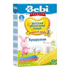 Bebi Premium Каша молочная Кукурузная с 5 мес 200г